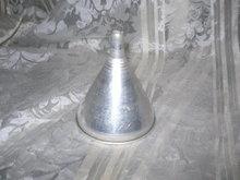 Vintage  Aluminum  Kitchen Funnel