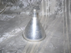 Vintage  Aluminum  Kitchen Funnel