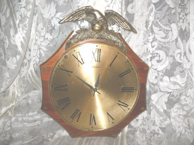Vintage Eagle Wall Clock