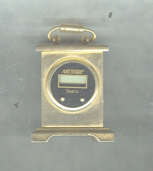 Vintage Miniature Carriage Style Clock