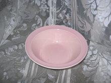 Vintage Lu-Ray Pastels Pink Serving Bowl