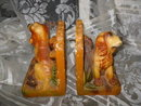 Vintage Hunting Dog Bookends