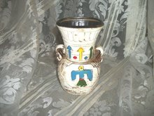 Vintage Native American Pottery Vase