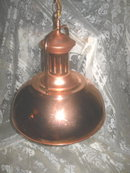 Copper Light Fixture