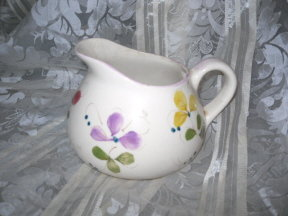 Vintage Paste Pottery Pitcher