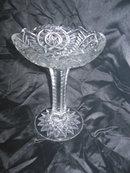 Vintage EAPG Cambridge Pedestal Dish