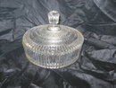 Vintage Glass Candy Dish w/Cover