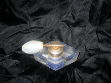 Vintage Jane-Art Lucite Perfume Bottle & Atomizer