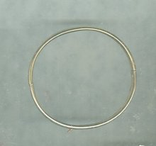 Vintage 12 KT Gold Fill Bangle Bracelet