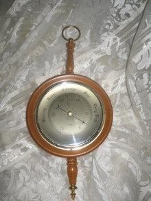 Vintage Barometer Made in England