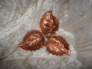 Vintage Gregorian Copper Leaf Dish
