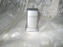 Vintage Zippo Cigarette Lighter Vintage Zippo  Barcroft 2 Step Table Lighter