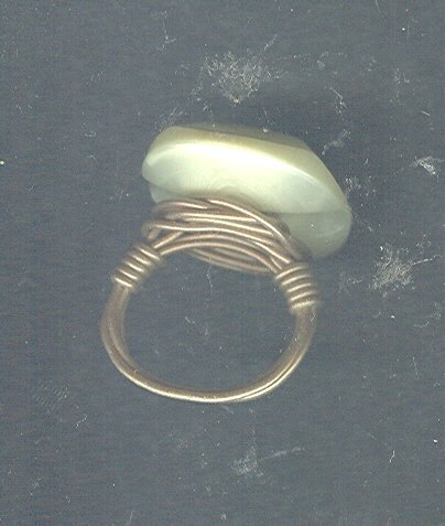 Large Stone Fashion Ring