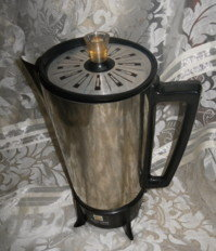Vintage RETRO Coffee Percolater