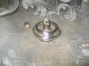 Vintage Whiting Davis Silver Table Lighter