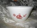 Vintage McKee Ships Mixing Bowl