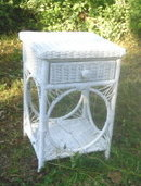 Vintage Wicker  Table