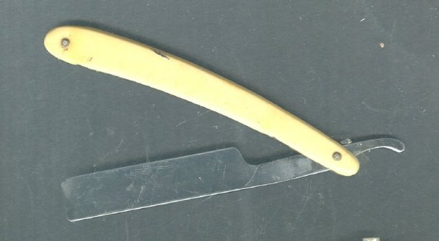 Vintage Solingen German Straight Razor