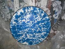 Vintage Blue & White Graniteware Plates