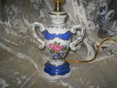 Double Handle Vase Shaped Lamp