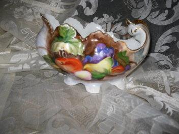 Vintage Fancy Porcelain Compote