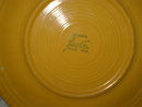Authentic Homer Laughlin Early Yellow Fiesta Plate