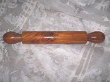 Vintage Cedar Wood Rolling Pin