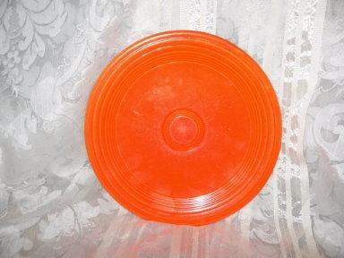Vintage Homer Laughlin Fiesta Original Red Dinner Plate