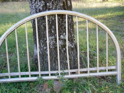 Antique Vintage Iron Full Size Bed
