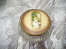 Vintage Glass Vanity Covered Box