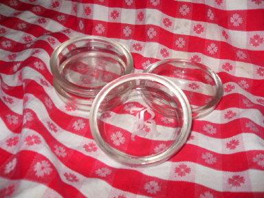 Vintage Glass Etched