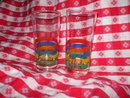 Vintage Glass Coca-Cola Drinking Glasses  **Set of 4**