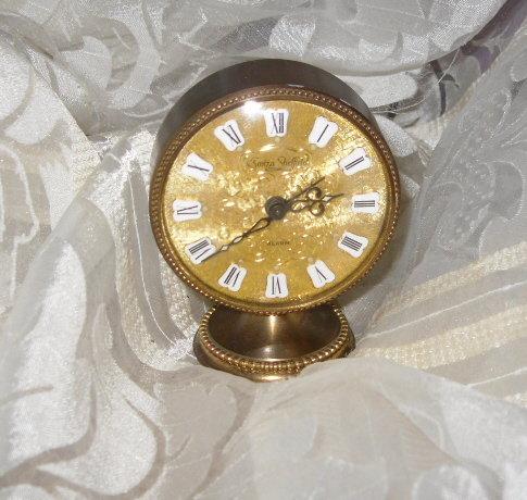 Vintage Swiza-Sheffield Alarm Clock  **Swiss Made**