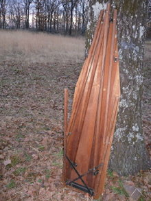 Vintage Rid-Jid Wooden Ironing Board