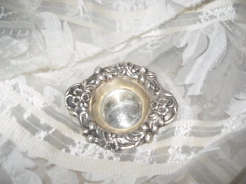 Antique Reed & Barton Sterling Silver Pin Cushion