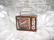 Vintage Style  Television Alarm Clock