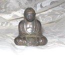 Vintage Bronze Buddha Sculpture   **SIGNED**