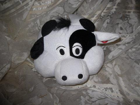 Plush Cow Coin Bank