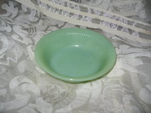 Vintage Fire King Jadeite Bowl
