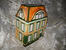 Vintage Victorian House Cookie Jar