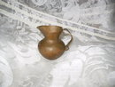 Vintage Hand Wrought Copper Pitcher