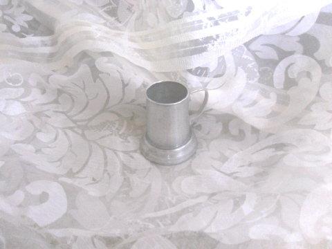 Vintage Miniature Aluminum Tankard