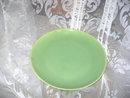 Vintage Santa Anita Ware Lime Green Dinner Plate