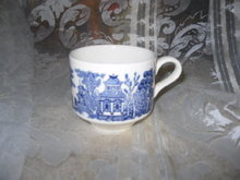Vintage Blue Willow Cup by Churchill England