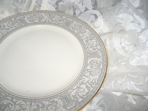 Vintage Fraciscan Renaissance Platinum Fine China Dinnerware