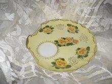 Vintage Lefton Porcelain Shell Plate