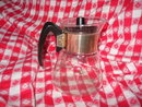 Vintage Retro Glass Coffee Carafe Server