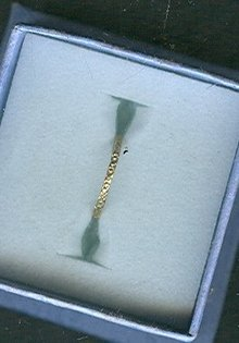 Vintage 10 kt Gold Baby Ring
