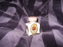 Vintage Sachet Powder in Glass Bottle