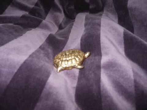 Vintage Avon Turtle Solid Perfume
